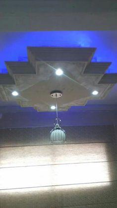 Sancas de gesso e placa de drywall e uma bela iluminação , Brasil RJ.