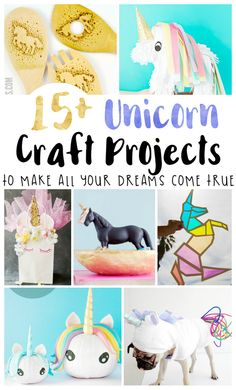 Unicorn Crafts to Make All Your Dreams Come True : I love all the brilliant unicorn crafts in this post! From unicorn costumes to easy unicorn crafts for kids, this post has it all. Fun Crafts For Kids, Toddler Crafts, Crafts To Make, Easy Crafts, Arts And Crafts, Stick Crafts, Kid Crafts, Preschool Crafts, I Am A Unicorn