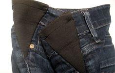 Cómo arreglar vaqueros estrechos de cintura (ideal embarazadas)