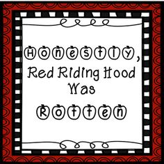 This is a companion pack for the fractured fairy tale Honestly, Red Riding Hood Was Rotten! by Trisha Speed Shaskan. There are 33 pages of 1st grade Common Core aligned worksheets. There are differentiated versions of each worksheet that you can choose from depending on your