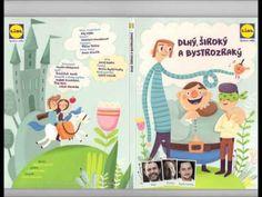 Lidl audio CD rozprávka, dávana zdarma v Lidlu za nákup nad v máji Lidl, Family Guy, Youtube, Guys, Frame, Fictional Characters, Art, Picture Frame, Art Background