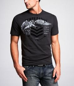 AMBIG Mens The Guarded Graphic T-Shirt black XL