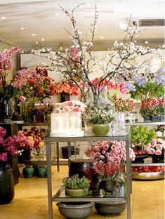 Florist - any shop filled with blooms is a blissful place to be!