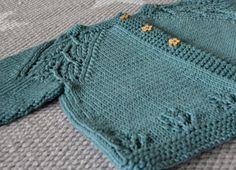 Hekta på strikk: Maile cardigan til mageboeren