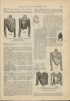 Sequence 31 (Page 685): The delineator. Paris ; New York : Butterick Pub. Co. Harvard University Library PDS