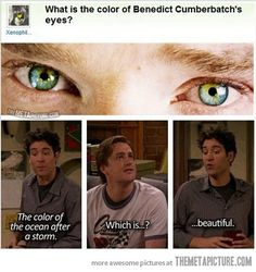 BENEDICT CUMBERBATCH'S EYES ARE THE MOST BEAUTIFUL THINGS I HAVE EVER SEEN