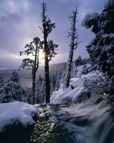 Eagle Falls, Emerald Bay, Lake Tahoe, California