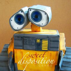 Wall-E cake-- Sweet Disposition Cakes