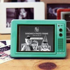 Retro TV Instax Mini Photo Frame