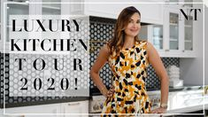 LUXURY DREAM KITCHEN REVEAL 2020! | Dream kitchen full tour | NINA TAKESH Closed Kitchen, Open Concept Kitchen, Interior Design Videos, Quartz Slab, Luxury Kitchen Design, Kitchen Pendants, World Of Interiors, Marble Mosaic, Luxury Bath