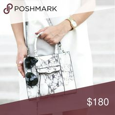 Mini MAB Marble Little signs of wear. Dust bag and extra tassels included. Rebecca Minkoff Bags