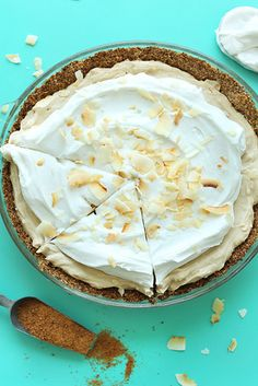 Vegan Coconut Cream Pie | 31 Delicious Things You Should Make In July
