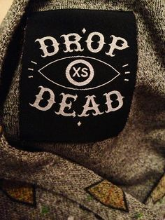 Size tag www.iheartdropdead.com