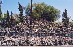 louis lee's rock garden. phoenix, arizona.