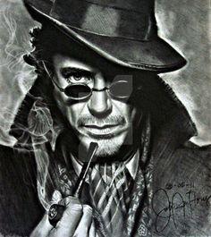 Sherlock Holmes by JAF-Artwork on DeviantArt