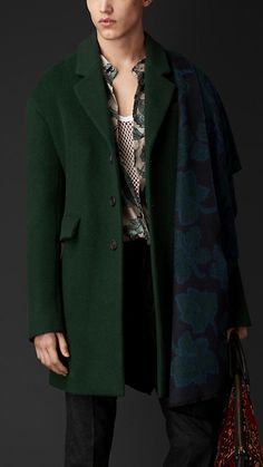 Burberry Prorsum Cashmere Wool Chesterfield