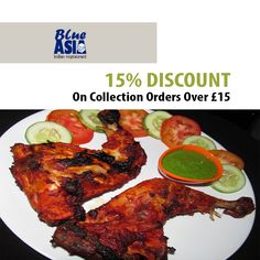 Blue Asia offers delicious Indian Food in Uckfield, Tunbridge Wells Browse takeaway menu and place your order with ChefOnline. Order Takeaway, Indian Food Recipes, Ethnic Recipes, Tunbridge Wells, Food Items, Tandoori Chicken, A Table, Asia, Menu