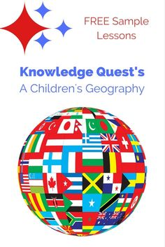 Using A Children's Geography as our home school geography curriculum is like taking an overseas vacation every time we study the world. via /https/://www.pinterest.com/Captiv8Compass/