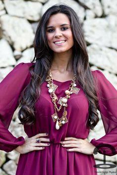 DIY Collar con cadenas y charms   Crímenes de la Moda en stylelovely.com