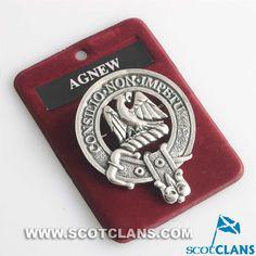 Agnew Clan Crest Badge