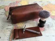 Not on the High street | Shaving kit bag and razor cover