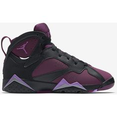 Air Jordan 7 Retro (3.5y-9.5y) Kids' Shoe. Nike.com ($110) ❤ liked on Polyvore featuring shoes, sneakers, jordans and s h o e s