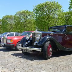 May: Some old friends visit us, as members of the Rolls-Royce Enthusiasts' Club graced sunny Goodwood with their presence.
