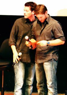 Jensen and Misha...