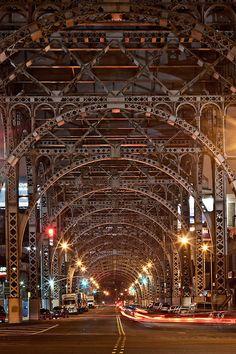 NYC: 125th Street Overpass, near Riverside Drive