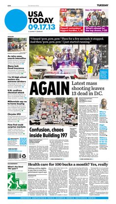 USA Today, published in McLean, Virginia USA