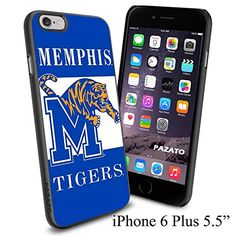 """NCAA M MEMPHIS TIGERS , Cool iPhone 6 Plus (6+ , 5.5"""") Smartphone Case Cover Collector iphone TPU Rubber Case Black [By NasaCover] NasaCover http://www.amazon.com/dp/B012BCJZAK/ref=cm_sw_r_pi_dp_0woXvb1BMX0SM"""