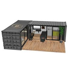 cheap shipping containers for sale :With standard steel chassis, saving installation time, we have very good price for this 20 feet shipping containers home Cheap Shipping Containers, Shipping Container Cabin, Sea Container Homes, Container Shop, Building A Container Home, Container House Design, Bathroom Containers, Container Office, Container Conversions