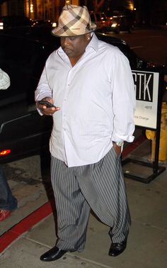 Cedric the Entertainer Photos Photos: Celebs Leaving 'STK Steakhouse' In West Hollywood Tall Men Fashion, Boy Fashion, Mens Fashion, Big And Tall Style, My Style, Black Celebrities, Celebs, Cedric The Entertainer, Grown Man