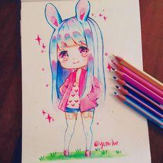 """8,943 Likes, 78 Comments - Yuni✧*。 (@yuniiho) on Instagram: """"bunbun✨"""""""