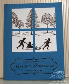 Welcome Christmas 3 by LaurenMullarkey - Cards and Paper Crafts at Splitcoaststampers