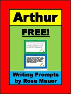 Use these free writing prompts and response page with any of the Arthur books.Huge savings when you buy Arthur books as part of the Arthur book bundle. Arthur Books Big Literacy Bundle Follow me to receive notice when FREE and paid products are added to my store.Visit my store for a variety of poetry packets, book units, and task card sets in all subject areas.Rosa Mauer's StoreAll products at my store are for single use only.