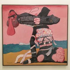 "Philip Guston, ""San Clemente"" (1975), oil on canvas, 68 x 73 1/4 in"