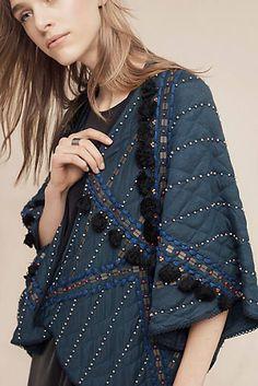 Quilted Sequin Kimono