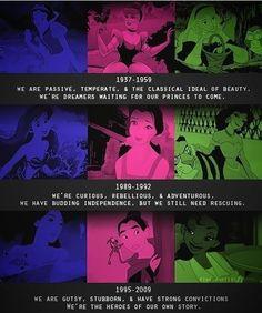 Evolving Disney Princesses - funny pictures - funny photos - funny images - funny pics - funny quotes - funny animals @ humor