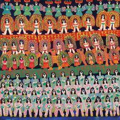 Poteiro. Carnaval (1980) - 120x120 cm.