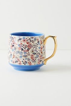 Liberty for Anthropologie Mug