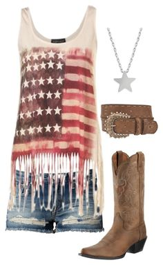 """""""(:"""" by sydasmith7 ❤ liked on Polyvore featuring Replay, Studio Silver and Miss Me"""