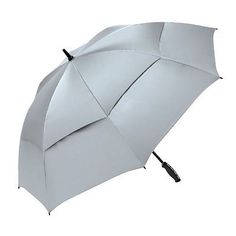 ShedRain Umbrellas Shedrays Vented 62-Inch Golf Umbrella, Silver, One Size | eBay