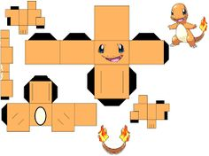 Resultado de imagem para pokemon papercraft