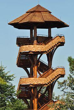 Tree Tower at Cox Arboretum MetroPark (Dayton, OH)