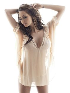 Jessica-Jane Clement (72 photos & video) - Lingerie Nights TV