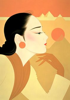 Kai Fine Art is an art website, shows painting and illustration works all over the world. Japan Illustration, Art Asiatique, Art Japonais, Japanese Artists, Japanese Art Modern, Art Moderne, Art Plastique, Chinese Art, Asian Art