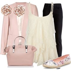 A fashion look from May 2013 featuring Full Tilt tops, By Malene Birger blazers and J Brand jeans. Browse and shop related looks.