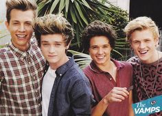 The Vamps have a new cover of Best Song Ever by One Direction The Vamps 2016, Meet The Vamps, Bradley Simpson, Best Song Ever, Best Songs, Somebody To You, Will Simpson, Love Band, Cute Boys