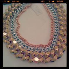 @SartorialGirl's @Dee L. Korman x @BaubleBar necklace!  #showusyoursparkle